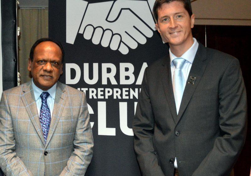 Durban Entrepreneurs Grant Gavin